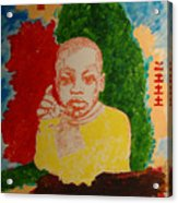 Bambino With Colors Acrylic Print