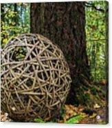 Bamboo Ball Acrylic Print