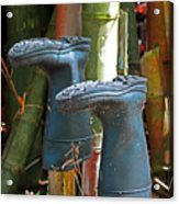 Bamboo Boots Acrylic Print