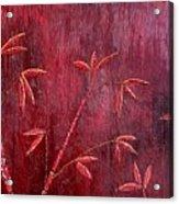 Bamboo Trees Acrylic Print