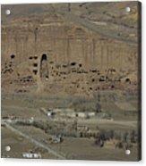 Bamiyan's Empty Alcoves Acrylic Print