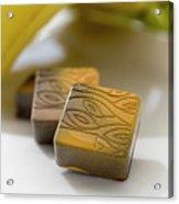 Banana Chocolate Acrylic Print