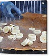 Banana Nutella Crepe Acrylic Print