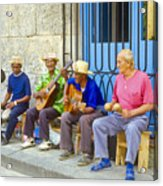Band Of Locals Acrylic Print