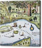 Bandar Abbas, 17th Century Acrylic Print