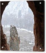 Bandelier Indian Ruins Acrylic Print
