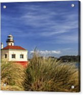 Bandon Coquille River Lighthouse Acrylic Print