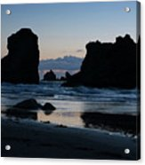 Bandon Oregon Sea Stacks Acrylic Print