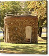 Bandstand Drinking Fountain Acrylic Print