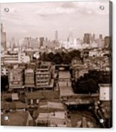Bangkok City Acrylic Print