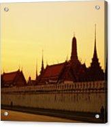 Bangkok Royal Palace Complex Acrylic Print