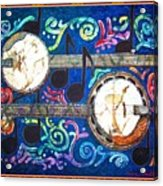 Banjos - Bordered Acrylic Print