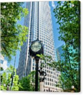 Bank Of America Corporate Center In Charlotte, Nc Acrylic Print