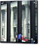 Bank Of Montreal Reflection Acrylic Print