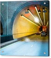 Bankhead Tunnel Acrylic Print