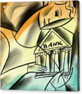 Banking Acrylic Print