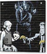 Banksy - Failure To Communicate Acrylic Print
