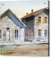 Bannack Ghost Town Montana Acrylic Print