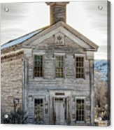 Bannack Schoolhouse And Masonic Temple Acrylic Print