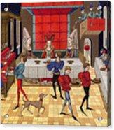 Banquet, 15th Century Acrylic Print