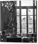 Banquet Room At The Musee D Orsay Acrylic Print