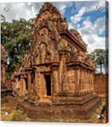 Banteay Srei Mandapa Sanctuary - Cambodia Acrylic Print