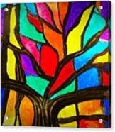 Banyan Tree Abstract Acrylic Print