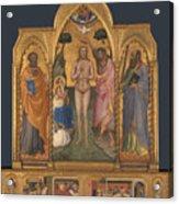 Baptism Altarpiece Acrylic Print
