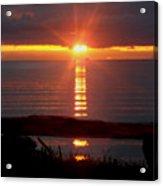 Baptism Sunrise Acrylic Print