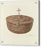 Baptismal Font Acrylic Print