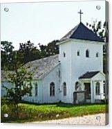 Baptist Church Acrylic Print
