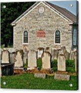 Baptize  Marry  Bury Acrylic Print