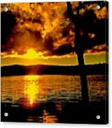 Baptized By Fire Acrylic Print