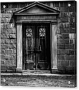 Bar Across The Door Acrylic Print