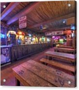 Bar At The Dixie Chicken Acrylic Print