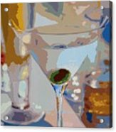 Bar Drinks Acrylic Print by David Lloyd Glover