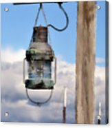 Bar Harbor Lantern Acrylic Print