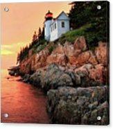 Bar Harbor Light House Acrylic Print
