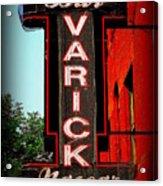 Bar Varick Nascar Acrylic Print