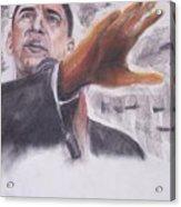 Barack Obama Acrylic Print
