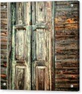 Baracoa Window 2 Acrylic Print