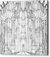 Barad-dur Gate Study Acrylic Print