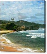 Barbados Beach Acrylic Print