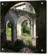 Barbados Ruins Acrylic Print