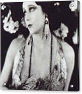 Barbara La Marr Acrylic Print