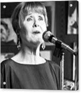 Barbara Lea, Jazz Vocalist Acrylic Print