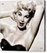 Barbara Nichols, Vintage Actress By John Springfield Acrylic Print