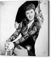 Barbara Stanwyck Acrylic Print