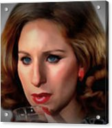 Barbara Streisand Collection - 1 Acrylic Print
