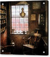Barber - Remembering The Old Days Acrylic Print